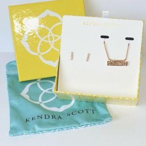 New Kendra Scott Jon & Leanor necklace earring set
